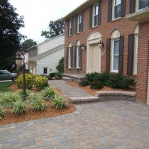 New Pavers and Driveway landscaping in Fairfax