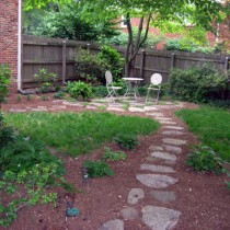 Natural Stone path Fairfax Va. 22030