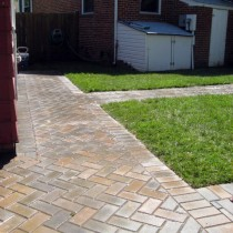 Brick Sidewalk Pavers 22030