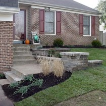 Chantilly Va. Retaining Walls