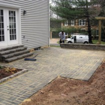 Concrete Pavers installed 20194