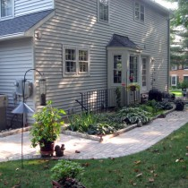 Curbstone installation Reston Virginia