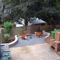 Fairfax Retaining walls 2